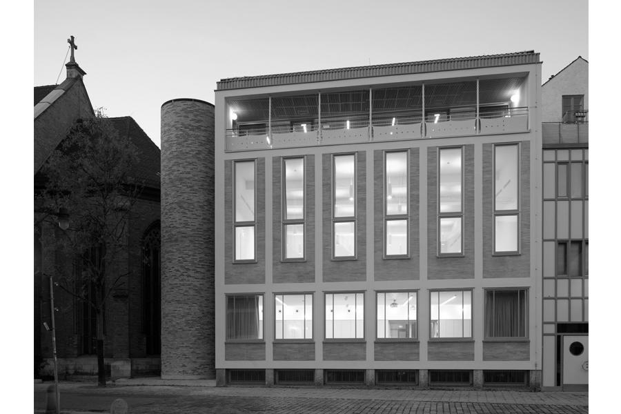 Architekten Ingolstadt florian nagler architekten archiv ansicht
